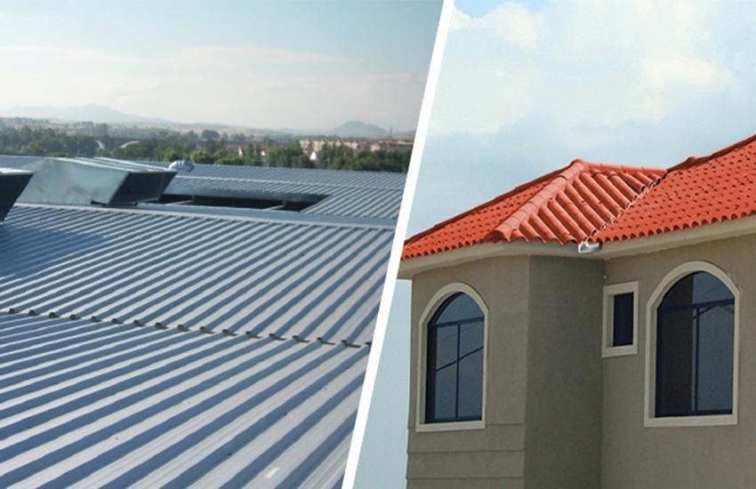 Especial cubiertas techos ideales para viviendas y for Materiales para techos de casas