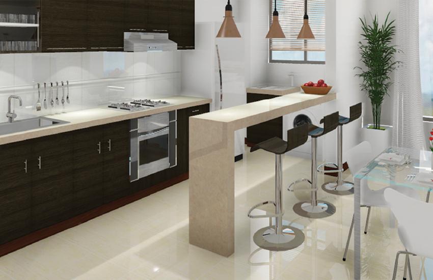 Porcelanato para pisos el oficial - Ceramica cocinas modernas ...