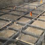 Cimentaciones en obras de construcción