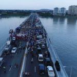 Inaugurado y en funcionamiento nuevo puente sobre el río Duale