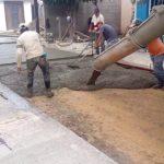 Se reconstruyen vías en la parroquia rural de Posorja