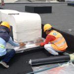 Reparación e impermeabilización de techos con Alumband